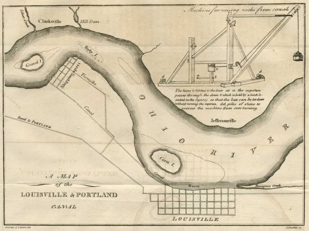 A Map of the Louisville & Portland Canal