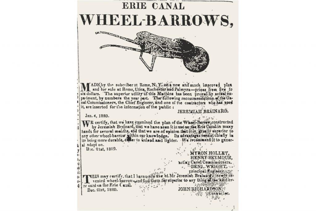 Wheelbarrow Ad