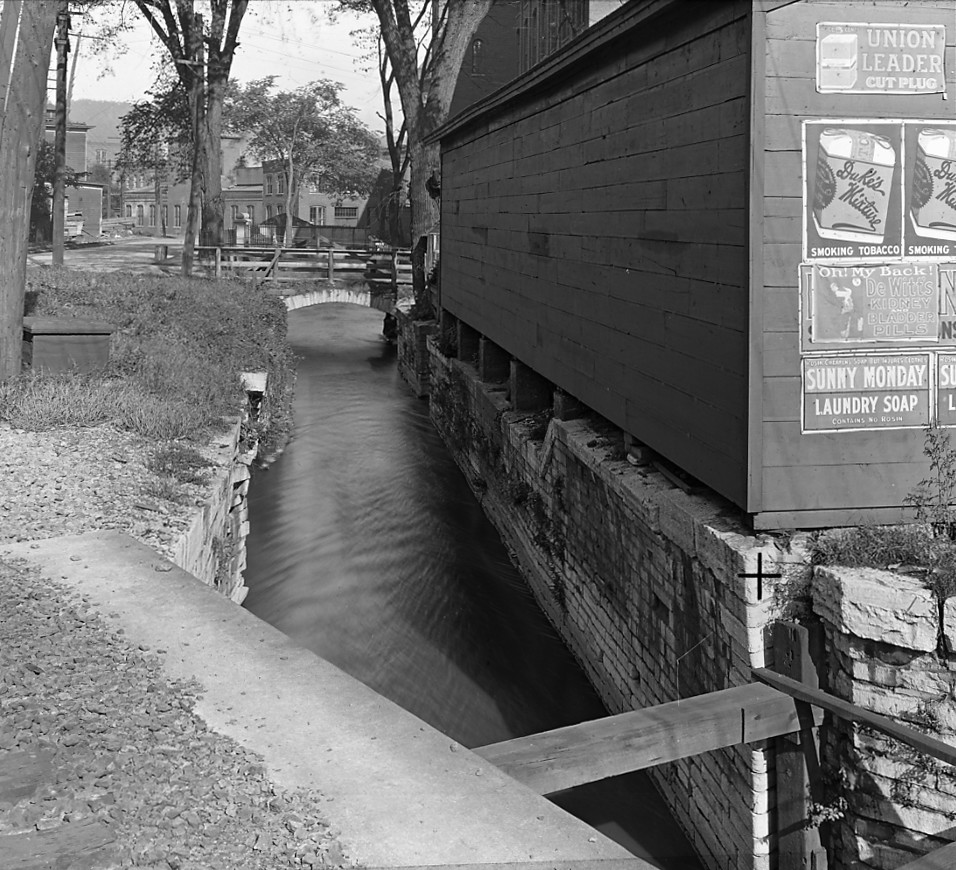 Old lock at Little Falls