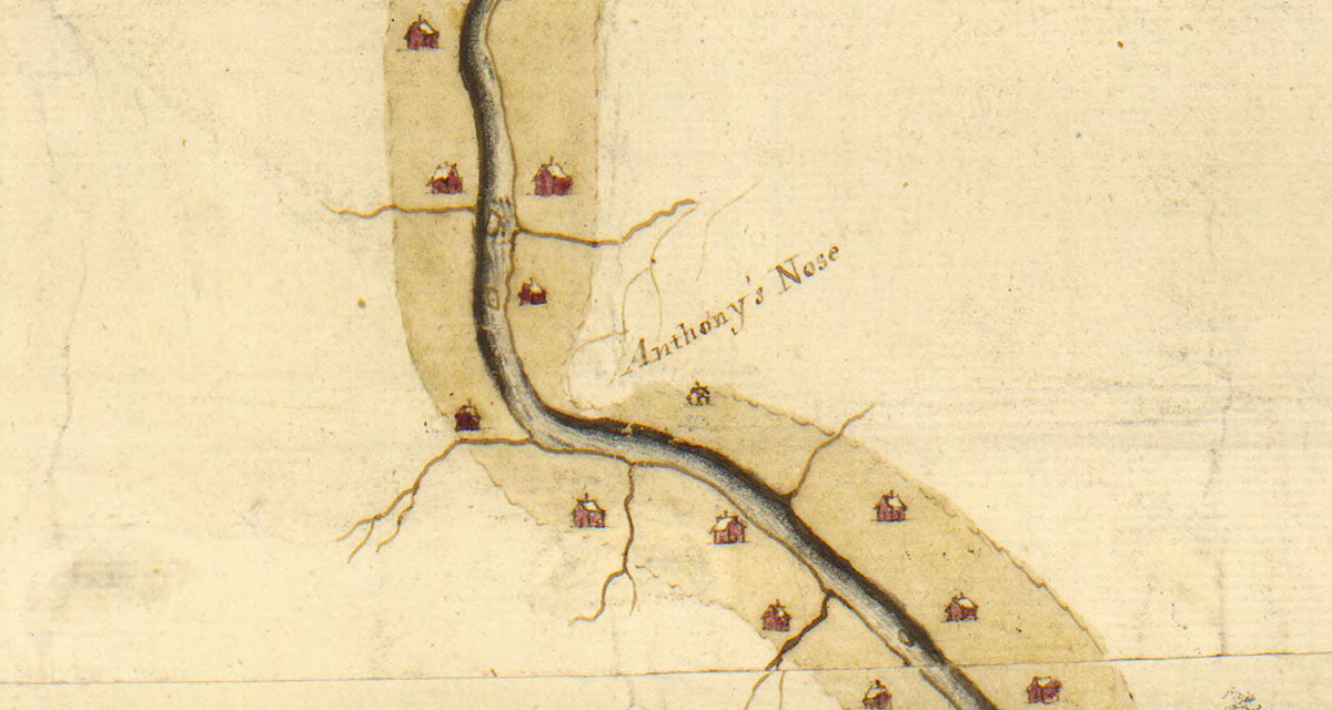 Plan of the river &c from Albany to Oswego in America