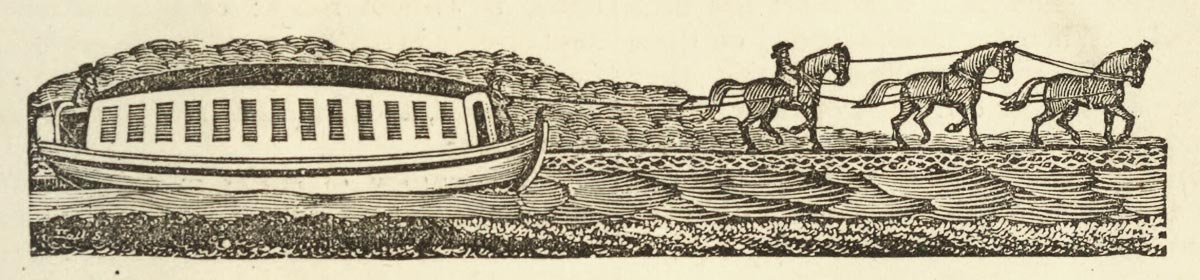Packet Boat Engraving