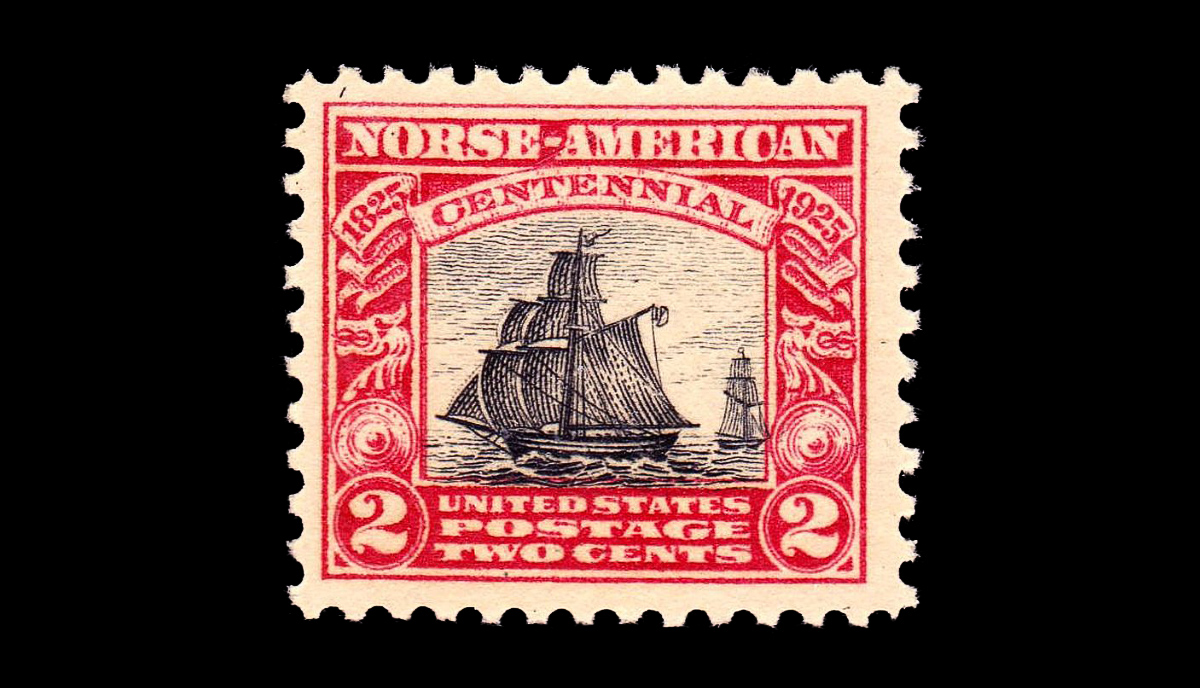 Norse-American centennial stamp