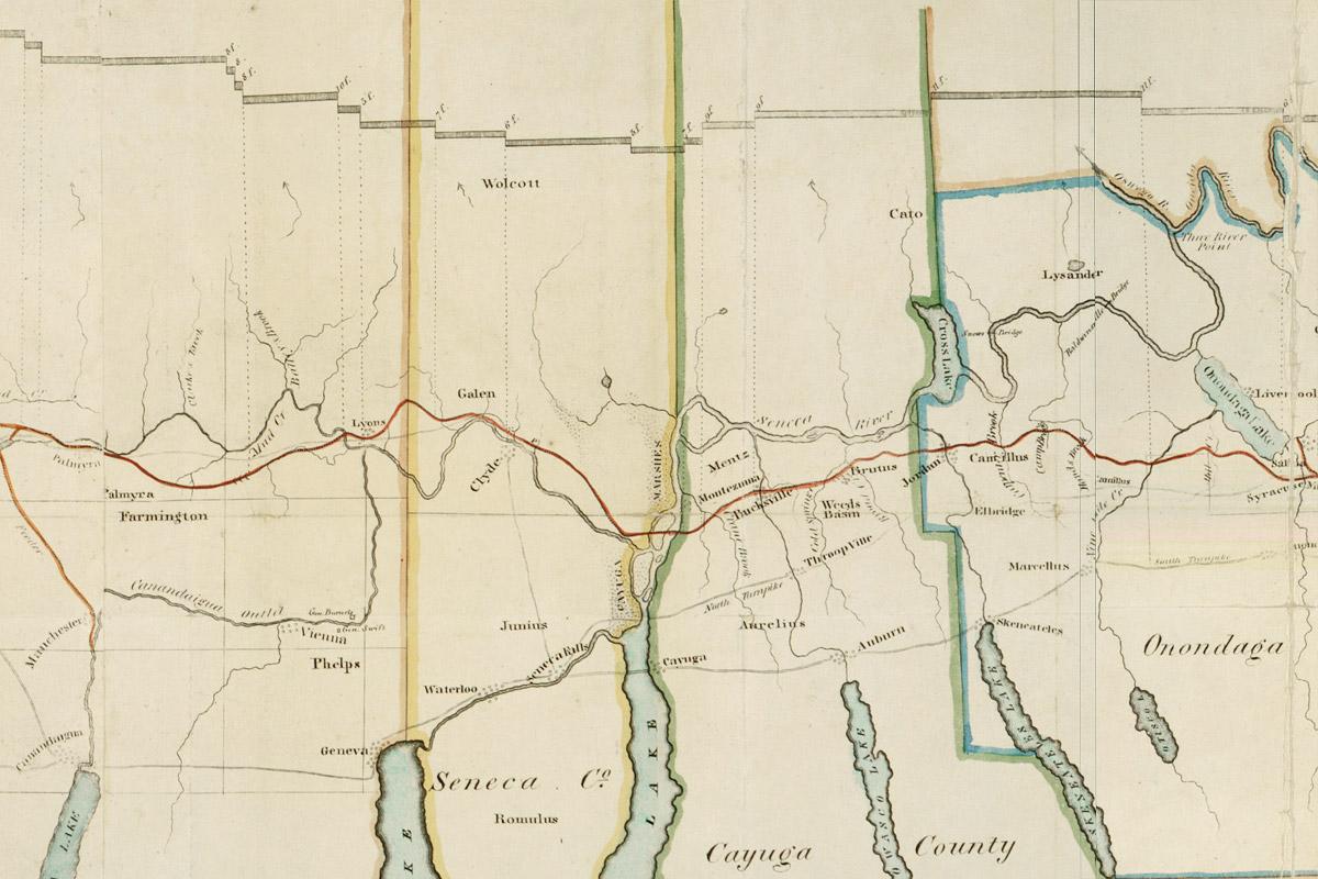 1817 Commissioners Map