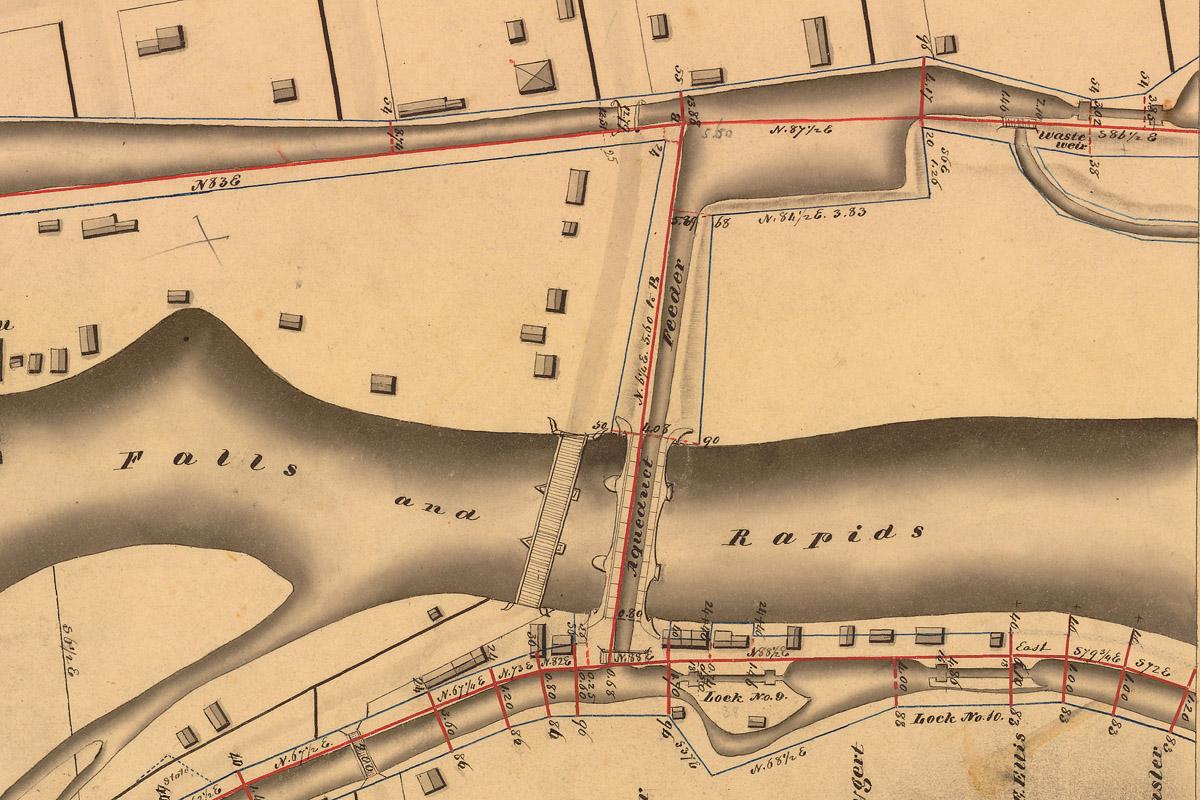 Little Falls Holmes Hutchinson Map