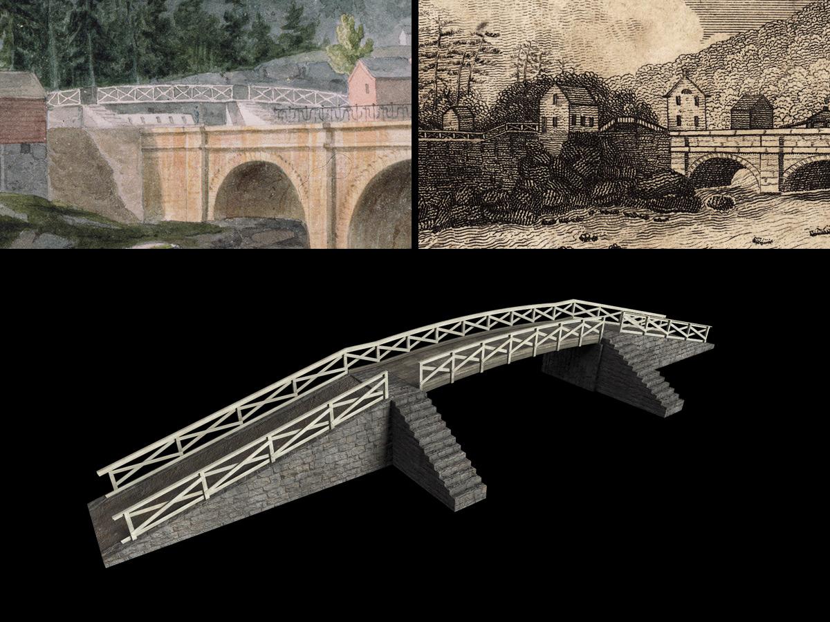 Towpath Bridge