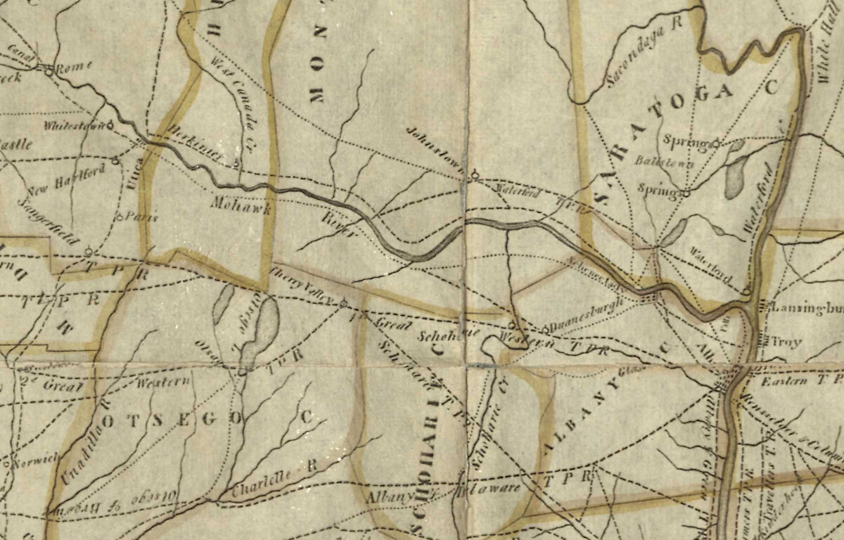 Map of New York 1808